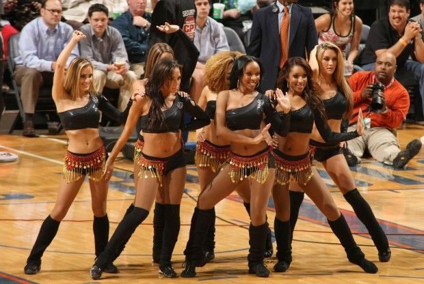 Charlotte Bobcats Dancers./ Getty Images