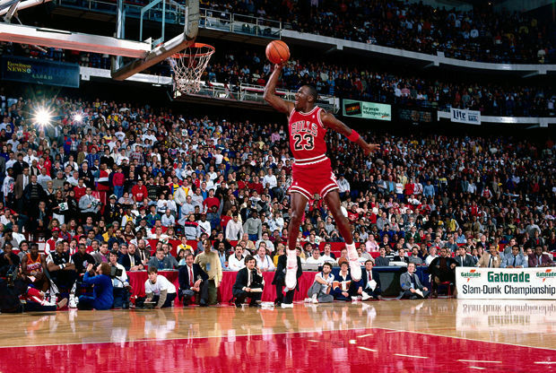 Michael Jordan./ Getty Images