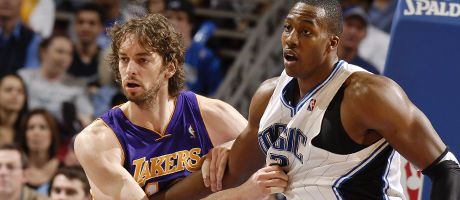 Pau Gasol y Dwight Howard./ Getty Images