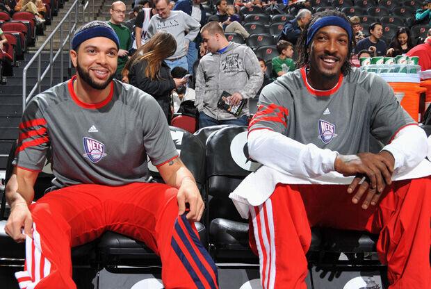 Deron Williams y Gerald-Wallace, nuevos compañeros en los Nets./ Getty
