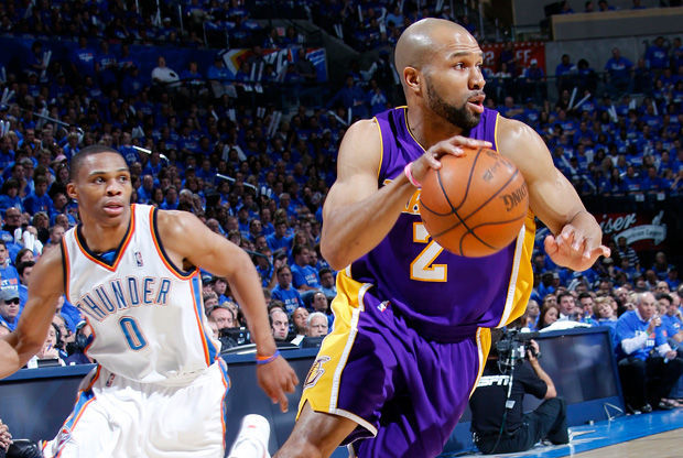 Derek Fisher./ Getty