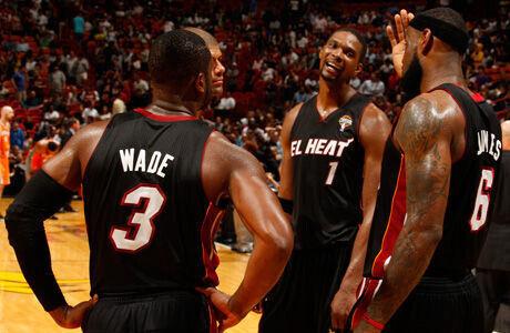 El poder de los Heat./ Getty