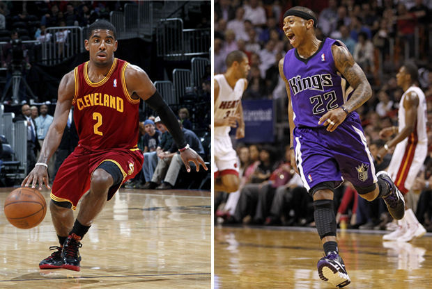 Kyrie Irving y Isaiah Thomas./ Getty Images