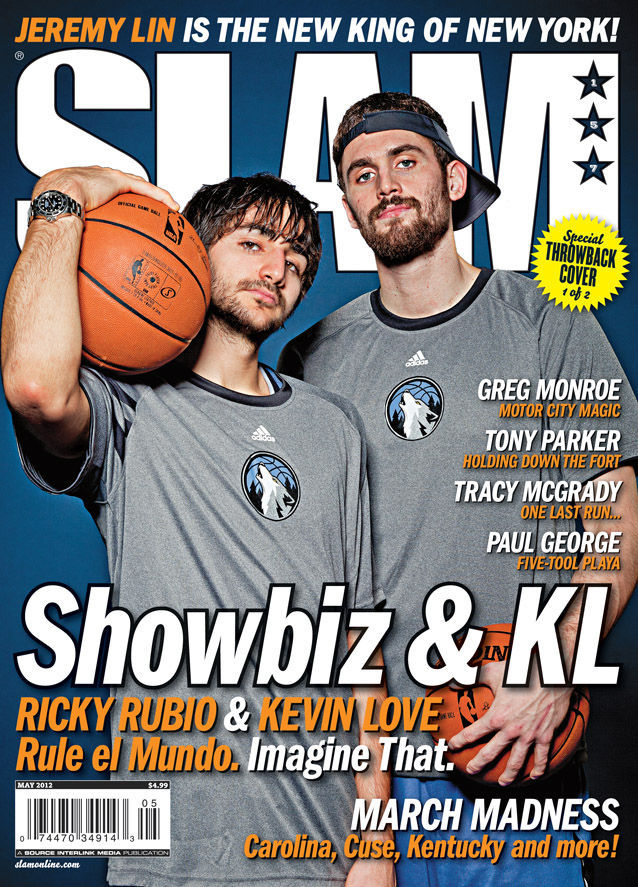 Kevin Love y Ricky Rubio