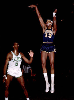 Wilt Chamberlain./ Getty