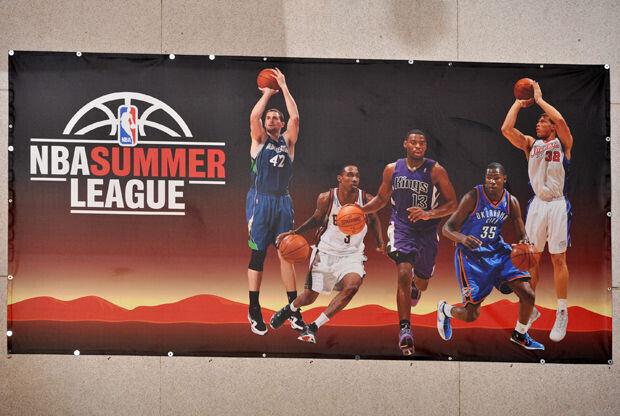 NBA Summer League in Las Vegas./ Getty Images