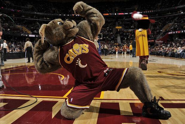 Moondog, mascota de Cleveland Cavaliers./ Getty Images
