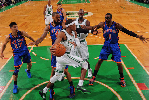 New York Knicks v Boston Celtics./ Getty Images