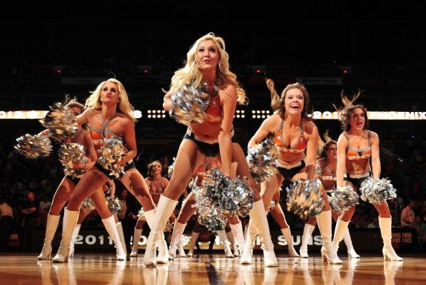 Phoenix Suns Dancers./ Getty Images