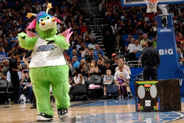 Mascota Orlando Magic./ Getty Images
