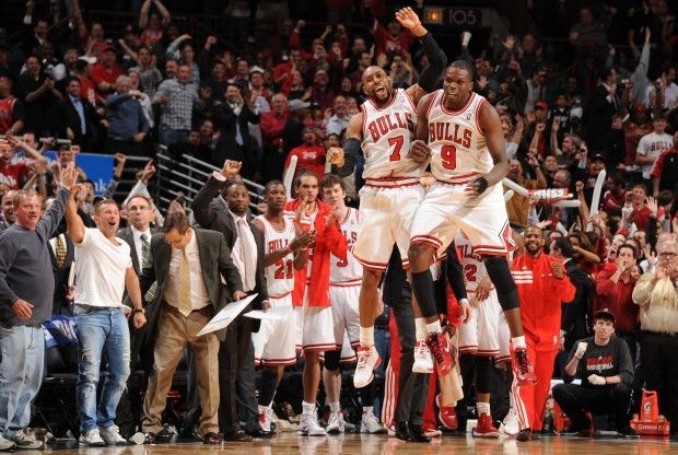 CJ Watson y Luol Deng./ Getty Images