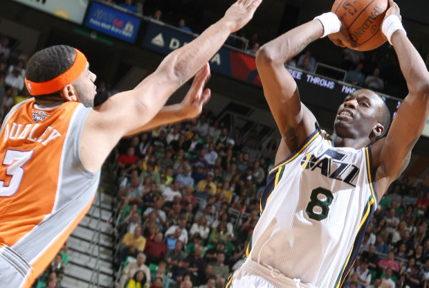 Josh Howard (Utah Jazz vs. Phoenix Suns)./ Getty Images