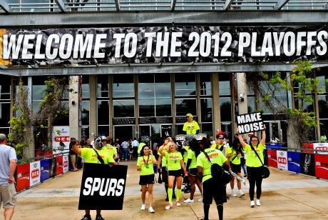 NBA Playoffs San Antonio./ Getty Images