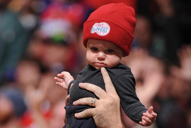 Un joven aficionado de los Clippers./ Getty