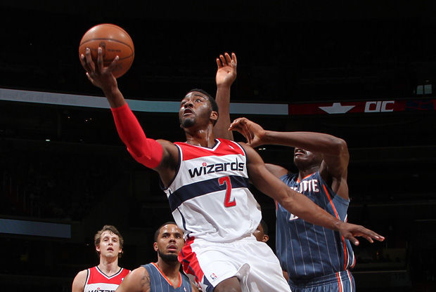 Bandeja de John Wall./ Getty