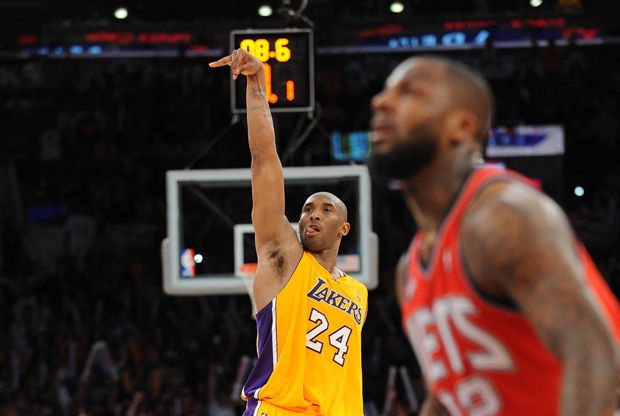 Kobe Bryant./ Getty
