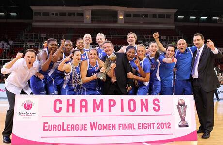 Ros Casares Valencia, campeón de Europa 2012./ FIBA Europe