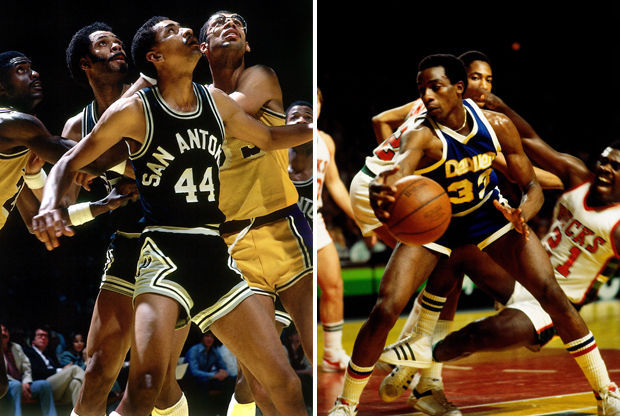 George Gervin y David Thompson./ Getty Images