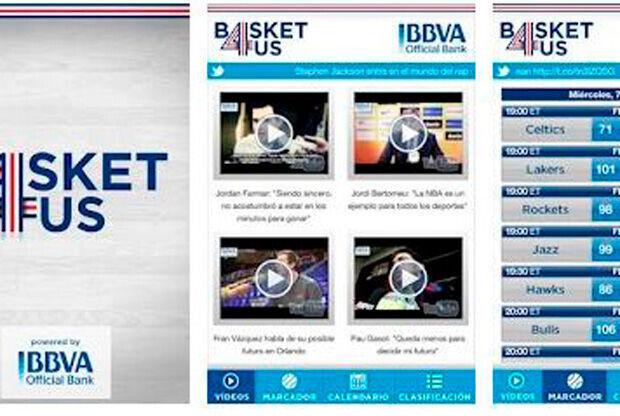 App de basket4us.com