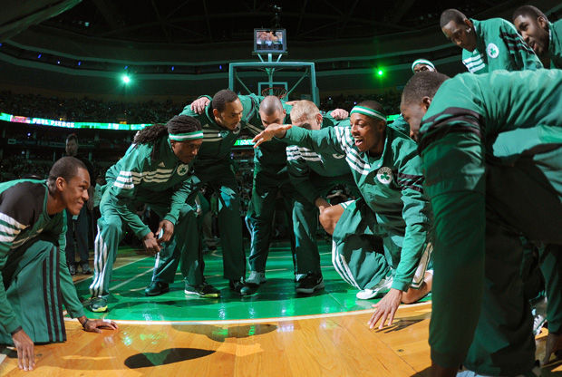 Boston Celtics./ Getty