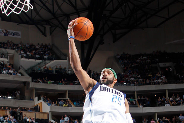 Vince Carter./ Getty