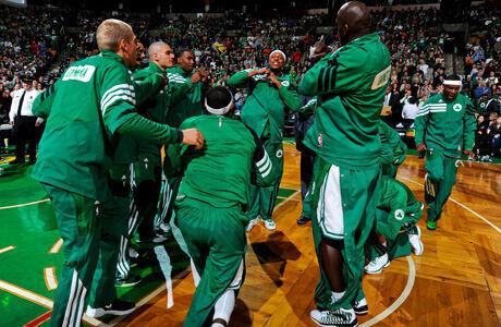 Boston Celtics./ Getty