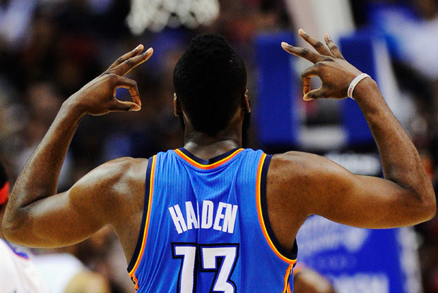 James Harden./ Getty