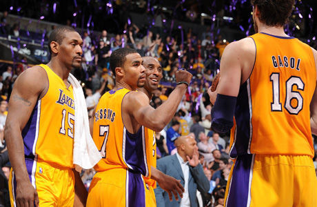 Los Angeles Lakers./ Getty
