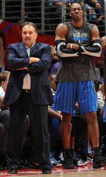 Stan Van Gundy y Dwight Howard./ Getty Images