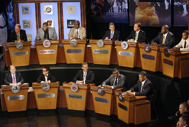 2010 NBA Draft Lottery./ Getty Images