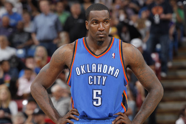 Kendrick Perkins./ Getty Images