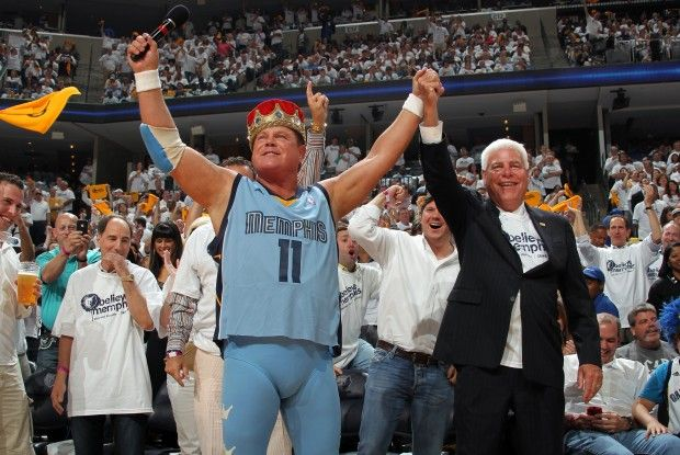 Jerry 'The King' Lawler./ Getty Images