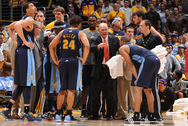 George Karl con Denver Nuggets./ Getty Images