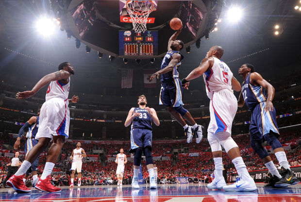 Memphis Grizzlies vs Los Angeles Clippers./ Getty Images
