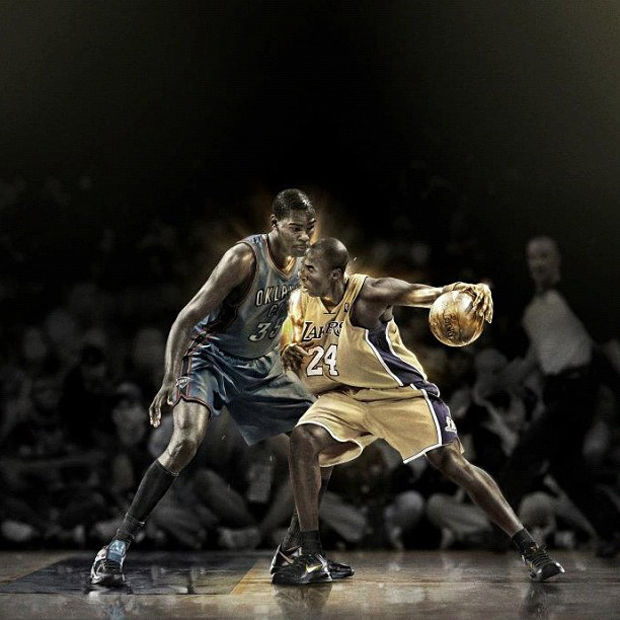 Kevin Durant vs. Kobe Bryant