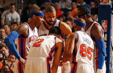 New York Knicks./ Getty