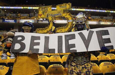 Aficionados de los Pacers en el Bankers Life Fieldhouse./ Getty
