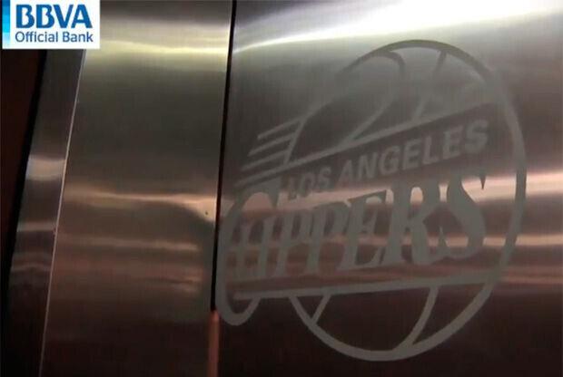 Acceso al vestuario de los Clippers en el Staples