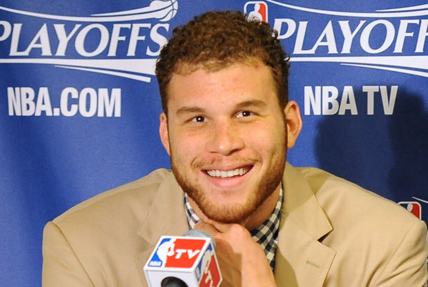 Blake Griffin, en la sala de prensa./ Getty
