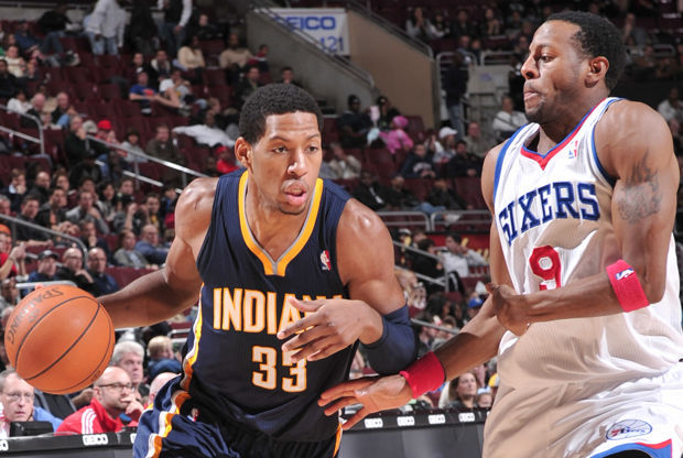 Danny Granger y Andre Iguodala./ Getty Images