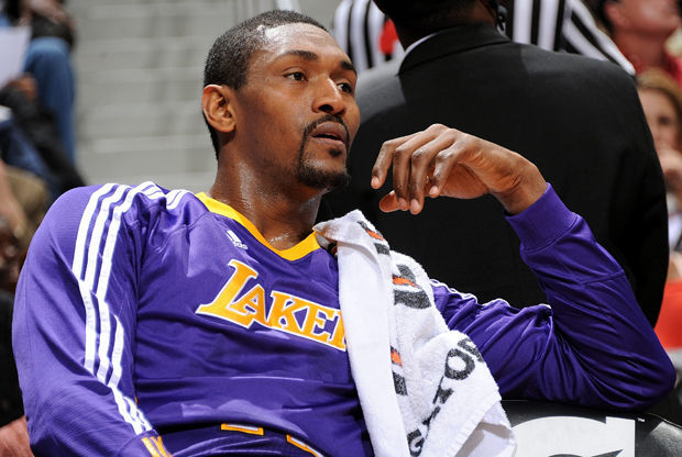Ron Artest./ Getty Images