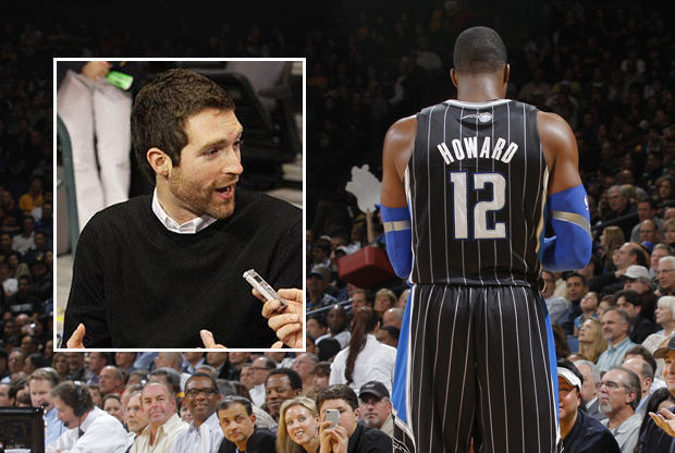 Rob Hennigan y Dwight Howard./ Getty Images