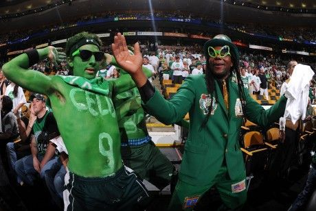 Fans Boston Celtics./ Getty Images