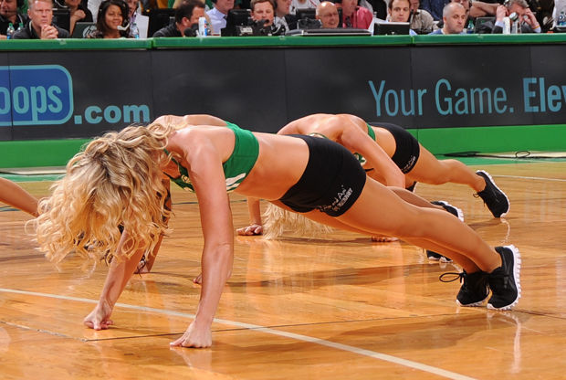 Las cheerleaders de Boston Celtics./ Getty Images