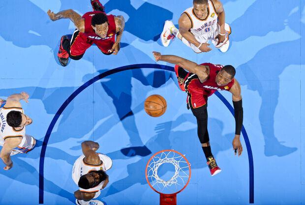 Miami Heat v Oklahoma City Thunder./ Getty Images
