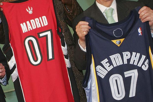 Toronto Raptors y Memphis Grizzlies./ Getty Images
