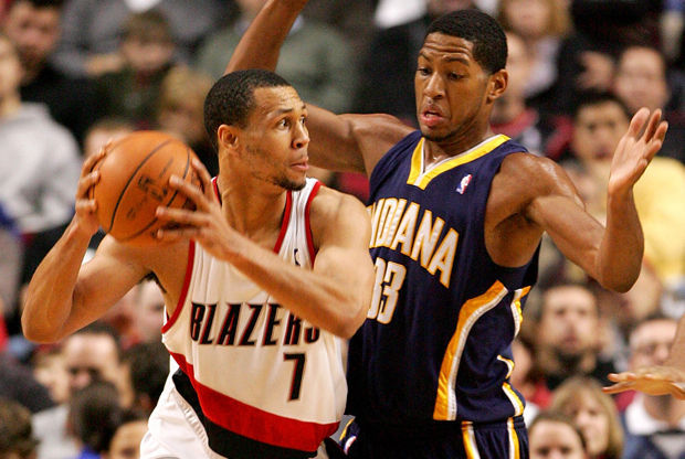 Brandon Roy y Danny Granger./ Getty Images