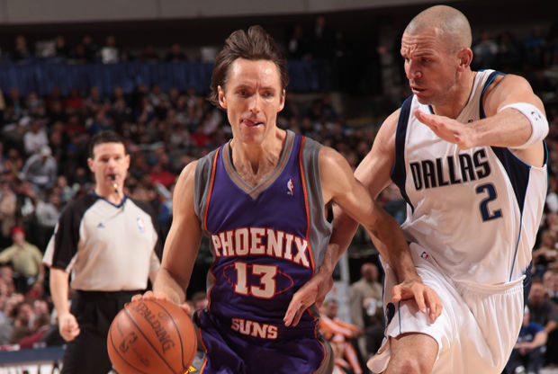 Steve Nash y Jason Kidd./ Getty Images