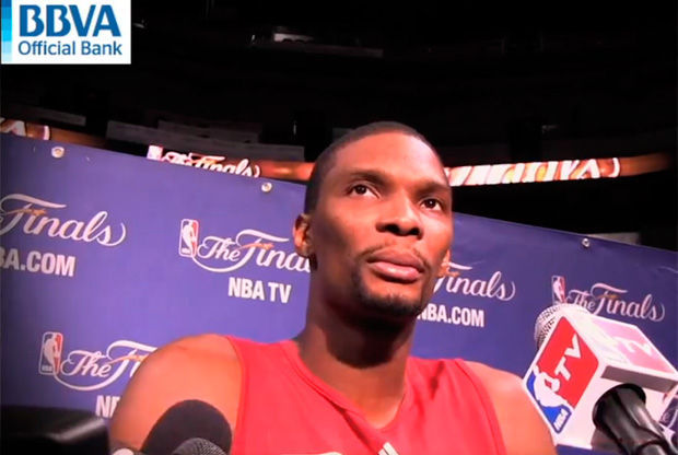 Chris Bosh, jugador de Miami Heat