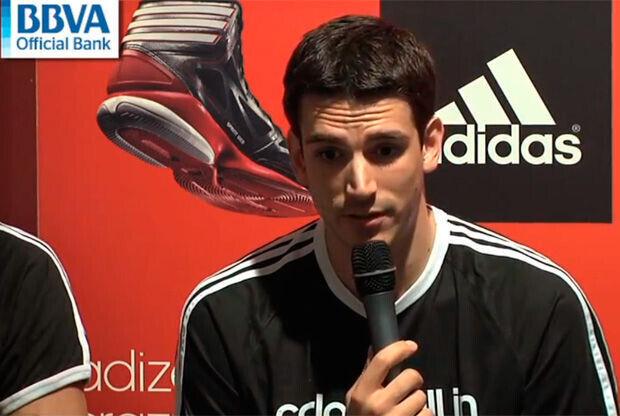 Carlos Suárez, jugador del Real Madrid